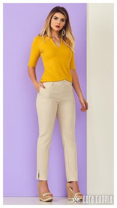 ideas for womens fashion business office chic color combos Business Casual Outfits, Business Fashion, Classy Outfits, Chic Outfits, Urban Fashion, Womens Fashion, Women's Fashion Dresses, Pants For Women, Office Chic