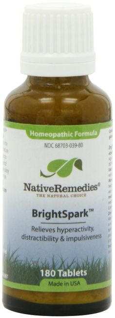 + Native Remedies BrightSpark, 180-Count Bottle: Health & Personal Care