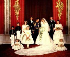 Portraits du mariage - suite _Portraits du mariage _ The Wedding of Lady Diana Spencer & Charles - 29 juillet 1981