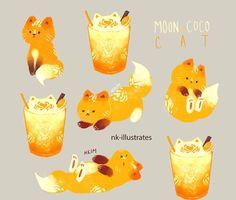 Moon coco cat