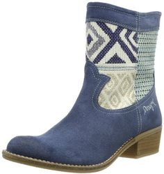 Desigual Womens Campera 4 Knee High Boots on shopstyle.co.uk