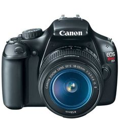 Canon EOS Rebel T3 DSLR Camera w/ 18-55mm IS II Lens 5157B002 #Canon