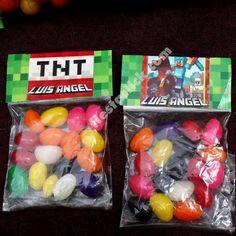 Minecraft dulces decorados