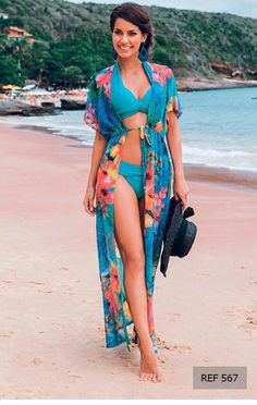 Women's Clothing Womens Summer Chiffon Semi-sheer Bikini Cover Up Boho Stripes Triangle Digital Printing Loose Dress Asymmetric Side Split Spare No Cost At Any Cost