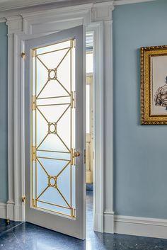 Central Park West Duplex Door | Larson Architecture Works pllc #architecture #door