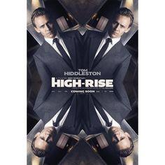 """High-Rise"" Poster shot Tom Hiddleston as Laing (https://www.instagram.com/p/BcAjqd7FmPZ/  )"