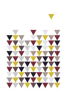 Scandinavian triangles prints, Geometry Home decor, Triangles wall art, Pattern printable art, Colorful triangles art decor, Geometric print.   This listing is for an INSTANT DOWNLOAD of 2 PDF files of this artwork. Just purchase the listing and your print is ready to download instantly. Why not print one for a friend, or just for fun?  Once you purchase the poster you will receive the following files:  - 1 JPEG high resolution (300 dpi) file with trim marks 8x10 inches. - 1 JPEG high…