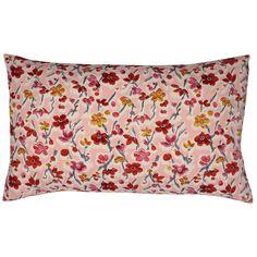 Japan Cushion Wildflower & Berries Pink 50x30