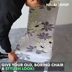 This highly stretchable chair covers made of elastic fabric, that is suitable for a medium & large chair. It can protect your furniture from spills, stains, wear and tear. It is wrinkle resistant, the chair cover is fadeless for long-lasting durability. Home Projects, Home Crafts, Diy Home Decor, Diy And Crafts, Sewing Projects, Projects To Try, Room Decor, Sewing Hacks, Large Chair