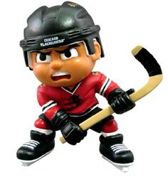 Chicago Blackhawks NHL Lil' Teammates Slapper Collectible Figurine Toy