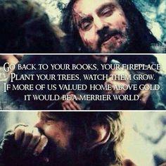#Thorin #Bilbo #hobbit #Tolkien