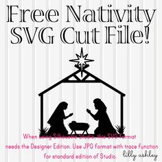 Free Cut File for Silhouette