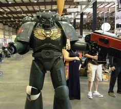 Build your own Space Marine armor - via thorssoli on Instructables