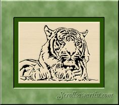 Scroll Saw Patterns :: Cats & Dogs -
