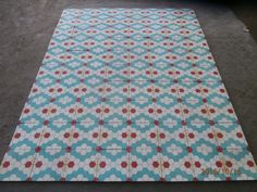Really old VICTORIAN floor tiles - set of 325 tiles - 13sqm of surface