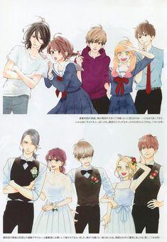 Manga Couple, Anime Love Couple, Anime Couples Manga, Manga Anime, Tsubaki Chou Lonely Planet, Daytime Shooting Star, Hirunaka No Ryuusei, Animes To Watch, Anime Reccomendations