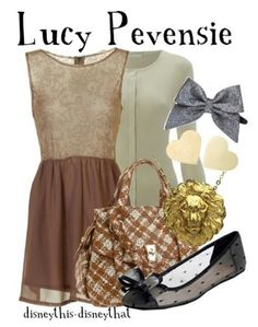 "Dress like ""Lucy Pevensie"" from The Chronicles of Narnia"