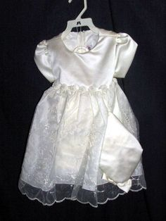 DRESS OKI DOKIE DRESSES SZ XL  X LARGE CREAM 3 PC girls our store link http://stores.ebay.com/store4angels?refid=store come see our store front always have great sales