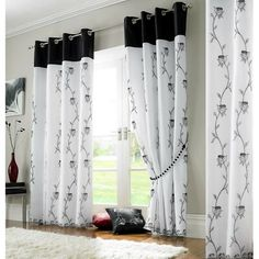 Red And White Curtains, Colorful Curtains, Burgundy Curtains, Voile Curtains, Curtains Living, Bedroom Curtains, Window Curtains, Silk Drapes, Cafe Curtains