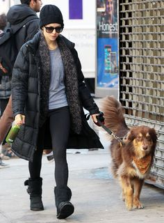 Celebrities in Uggs: The Ultimate It-Girl Rite of Passage - Amanda Seyfried from InStyle.com