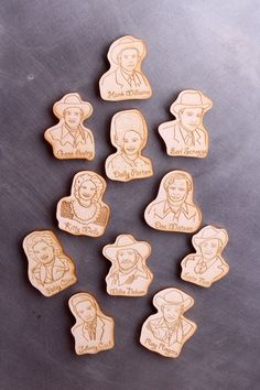 Dolly Parton Laser Etched Magnet by jodiburton on Etsy, $6.00