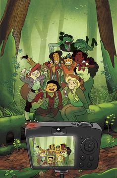 The Lumberjanes wrap up their adventure with Seafarin' Karen and Molly gains a greater understanding of shapeshifters.