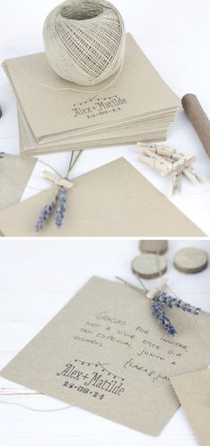 10 DIY para usar tu sello de bodas / Project Party Studio  PPStudio_DIY_uso-sello-bodas_07