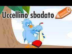 Uccellino sbadato fa gli auguri di Buon Compleanno - Cartoline.net - YouTube