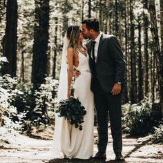 11 a modern slip wedding dress highlighted with an embellished belt, a long veil and a greenery bouquet - Weddingomania Wedding Fotos, Wedding Pics, Wedding Bells, Wedding Advice, Trendy Wedding, Wedding Family Photos, Wedding Photo Poses, Outdoor Wedding Pictures, Rustic Wedding Photography