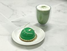 "138 Likes, 5 Comments - KOVA (@kovapatisserie) on Instagram: ""Our Matcha Yuzu Mousse is now available in our Soho shop from today. 😋😋"""