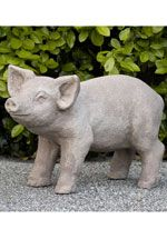 According to German tradition a pig in the garden brings good luck <3