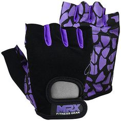 e9524fc7f Women Weight Lifting Gloves Crossfit Ladies Fitness Glove Gym workout  Purple/BLK Crossfit Ladies,