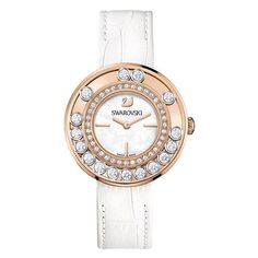 Reloj swarovski lovely crystals - white, rose, gold 1187023 IVA Inc. Swarovski Watches, Swarovski Jewelry, Swarovski Crystals, Hand Tattoos, Michelle Watches, Best Watch Brands, Jewelry Watches, Women's Watches, Ladies Watches