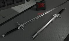 Folding Sword by The-5