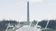 Travel + Day 1 | DC Travel Vlog