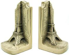 Historical Wonders Collection Eiffel Tower Bookends Art by Private Label. $44.99. The Eiffel Tower is a 19th century iron lattice tower located on the Champ de Mars in Paris that has become both a global icon of France and one of the most recognizable structures in the world. The Eiffel Tower, which is the tallest building in Paris, is the single most visited paid monument in the world; millions of people ascend it every year. Named after its designer, engineer Gustave Eif...