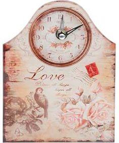 Buy Vintage Look Mantle Clock - Glass at Argos.co.uk, visit Argos.co.uk to shop online for Clocks