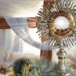 O my Jesus, I love You in this Most Blessed Sacrament and as my God and my Lord, as my Redeemer and Sanctifier!
