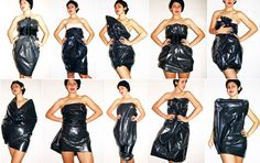 trash bags. Can be used for actual trash, rain poncho, or something to sit on when the chair or ground is wet.