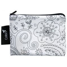 Colibri - Small Reusable Bag - Colour Your Own - Flowers