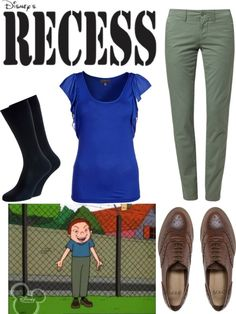 """Recess Inspired: Randall J. Weems"" by helsingmusique ❤ liked on Polyvore"