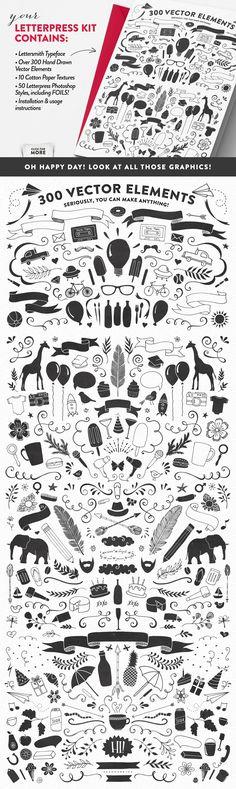 Lettersmith Design Kit by MakeMediaCo. on @creativemarket