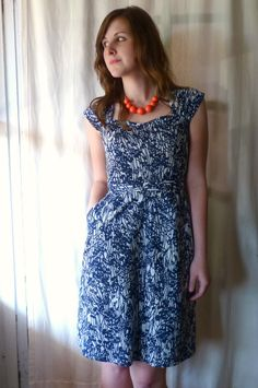 sewaholic cambie dress by foursquare walls