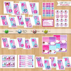 Doc Mcstuffins Party Supplies Printable Banner favor by SDBDIRECT, $25.99