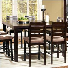 5 piece queen bedroom set in espresso tall dining tabletall kitchen - High Kitchen Tables