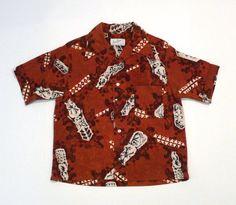 Don Loper California Hawaiian Shirt Vintage Tiki by plattermatter