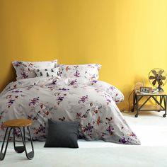 2017 Bedding Set 100% Egyptian Cotton Queen Duvet Cover Satin flowers owl White Hotel Bed Sheet Sets King Size 4pcs Jogo de Cama