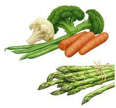 Lori Anzalone Illustration - Food Illustrator of Food Fruit Juice Vegetable Figs - Google zoeken