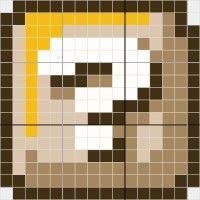 Mario Qbox - Stitch Fiddle
