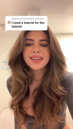 Hair Tutorials For Medium Hair, Curly Hair Tips, Hair Tips Video, Wavey Hair, Haircuts Straight Hair, Blowout Hair, Brown Blonde Hair, Aesthetic Hair, Hair Highlights